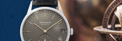 Nomos Glashuette Watches