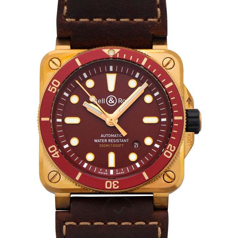 Bell & Ross Instruments BR0392-D-R-BR/SCA