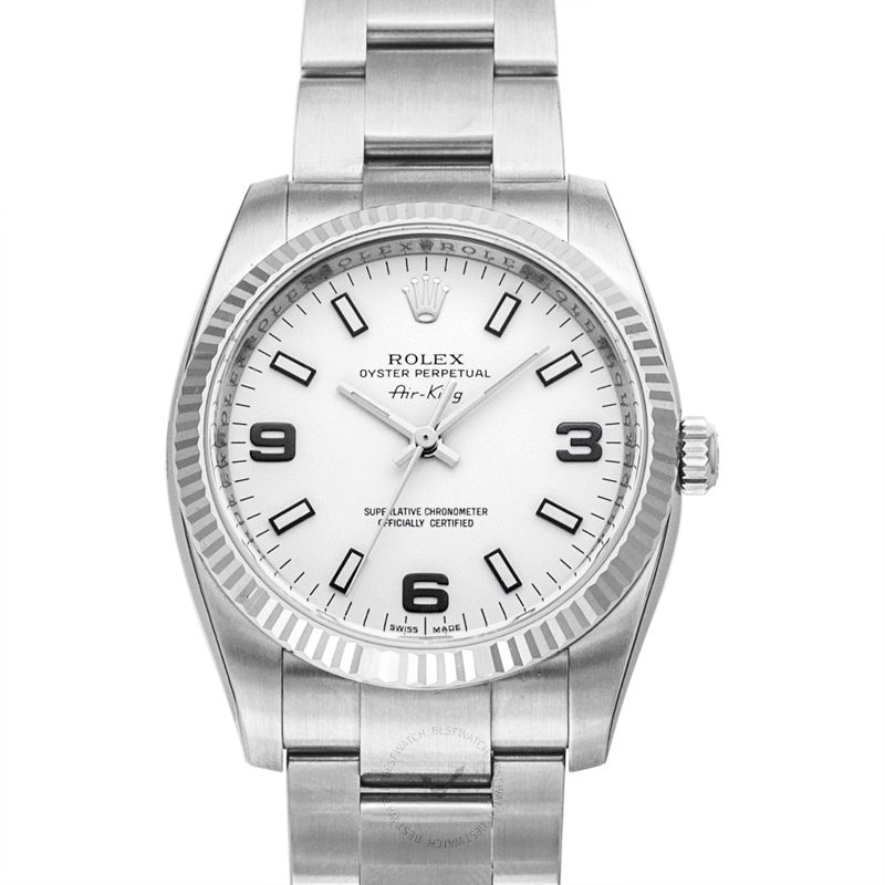 Rolex Air King 114234 White