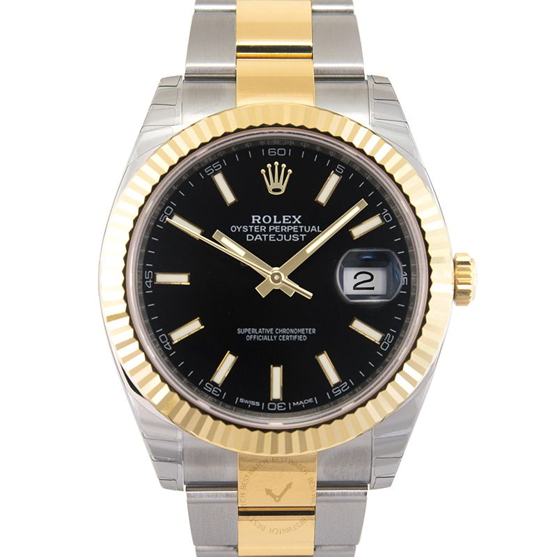 Rolex Datejust 126333 Black Oyster