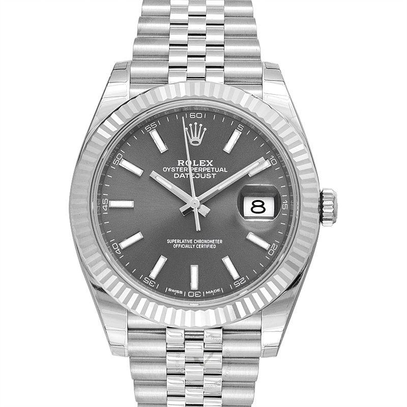 Rolex Datejust 126334-Rhodium-Jubilee