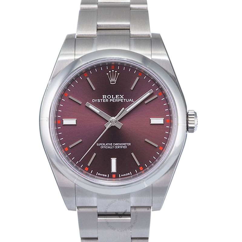 Rolex Oyster Perpetual 114300/Purple