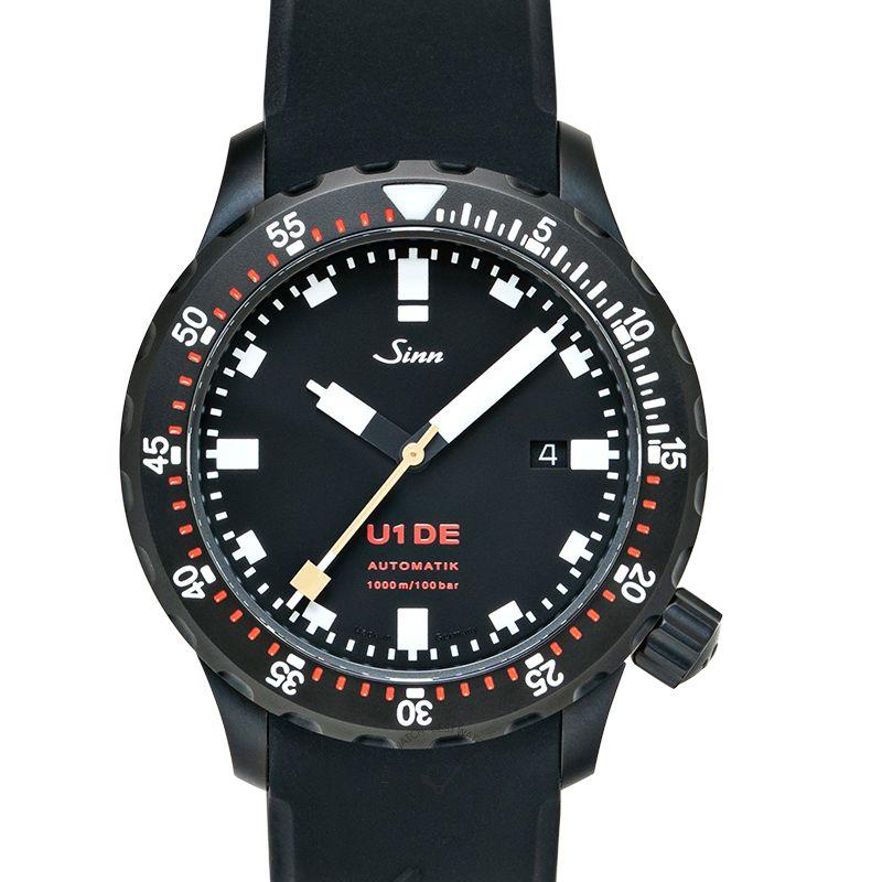 Sinn Diving Watches 1010.0241-Silicone-LFC-Blk