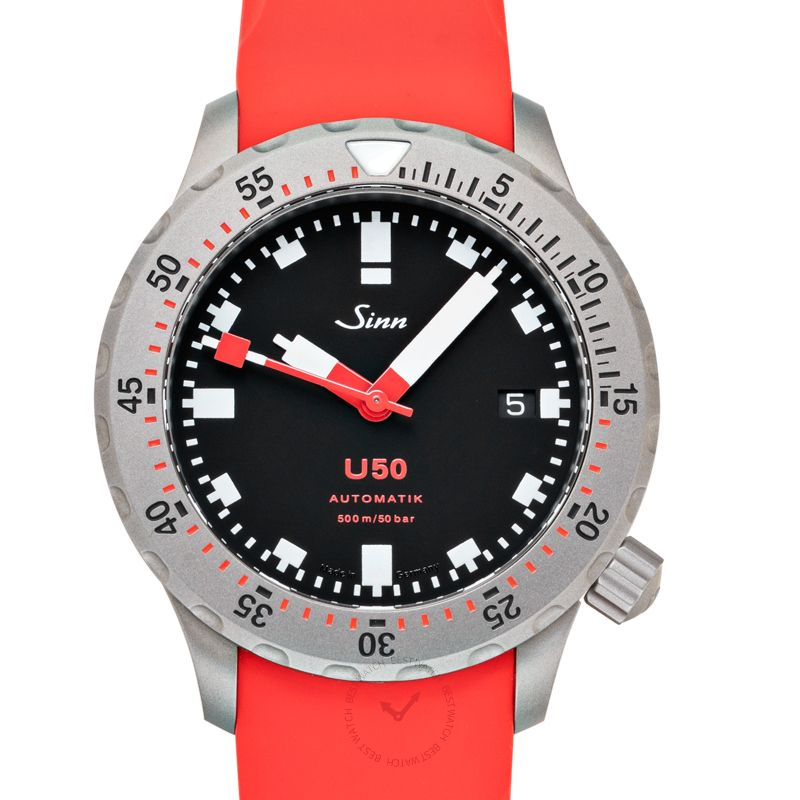 Sinn Diving Watches 1050.030-Silicone-LFC-Red