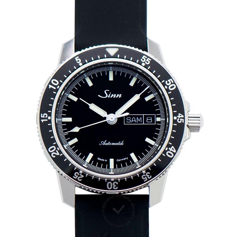 Sinn Instrument Watches 104.010-Silicone-Blk