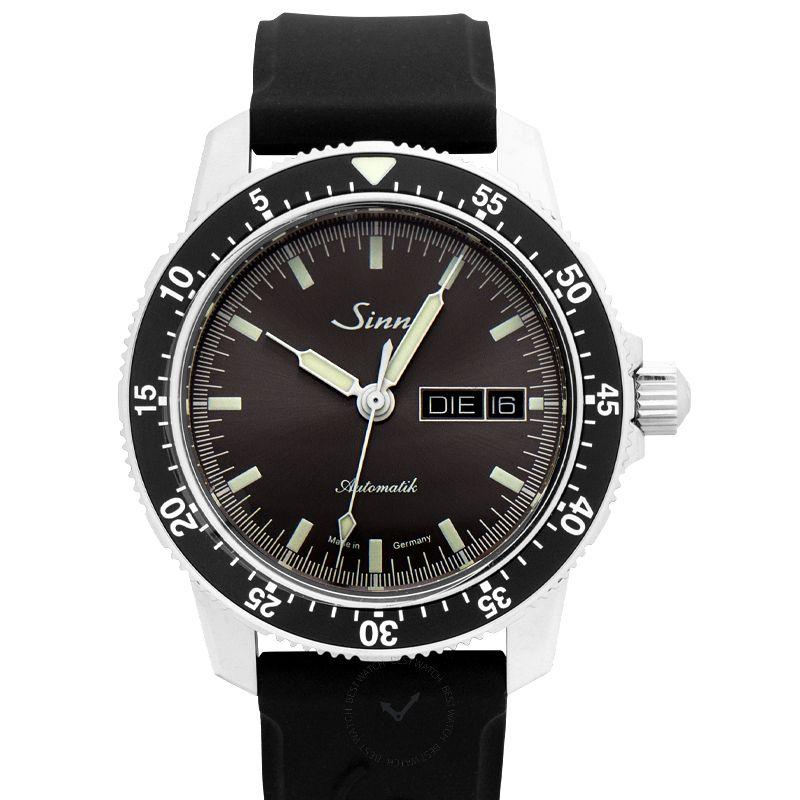 Sinn Instrument Watches 104.014-Silicone-Blk