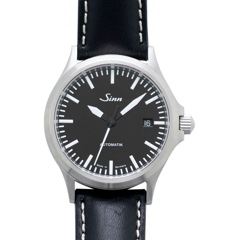Sinn Instrument Watches 556.010-Leather-Cowhide-RL-Blk-CSW