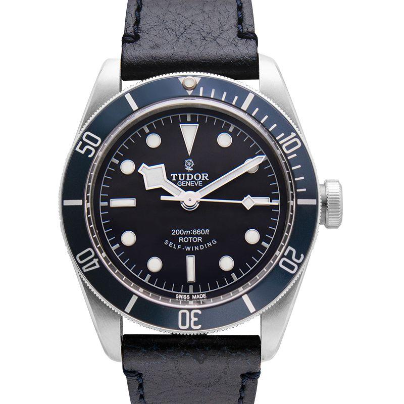 Tudor Heritage Black Bay 79220B-LEATHER